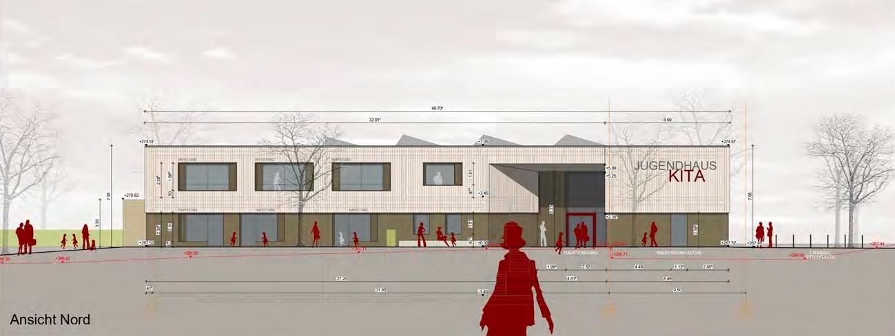 Visualisierung Neubau Kinder- und Jugendhaus